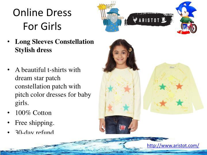 Online Dress For Girls
