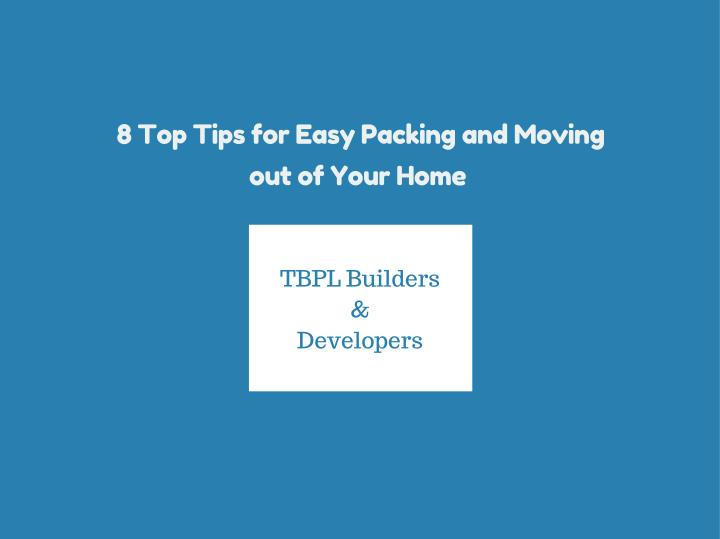 8 Top Tips for Easy Packing and Moving