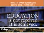 card 548 study career path begins card548study com1