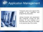 it application management