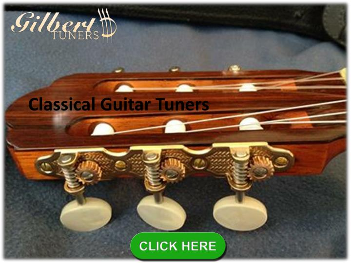 Classical Guitar Tuners