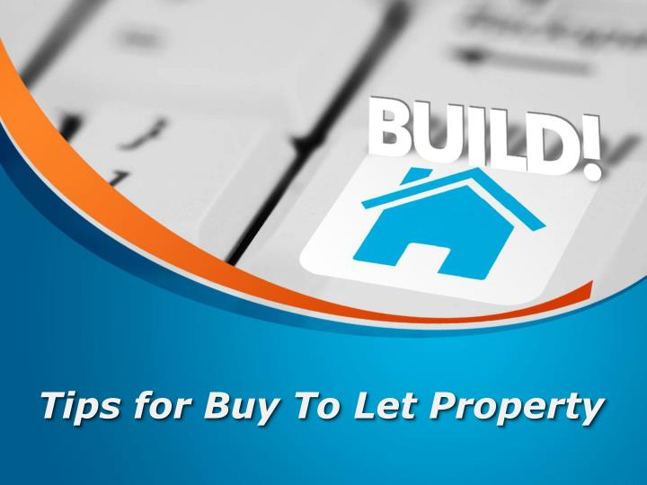 tips for buy to let property n.