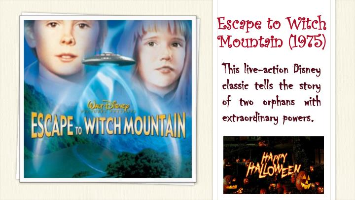 Escape to Witch Mountain(1975