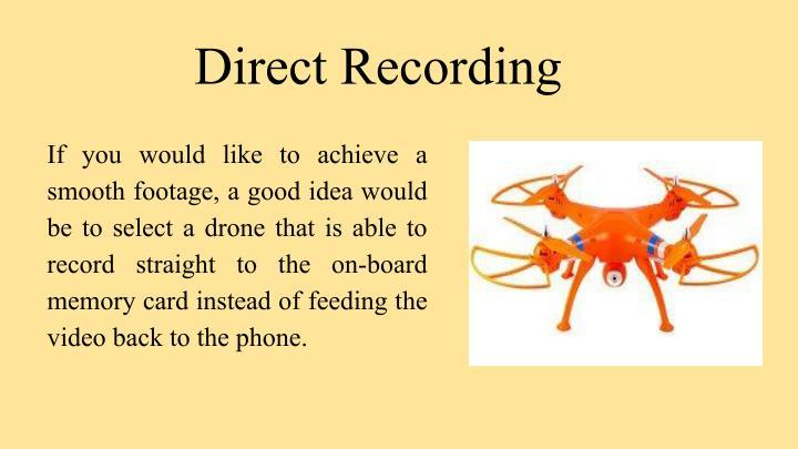 Direct Recording