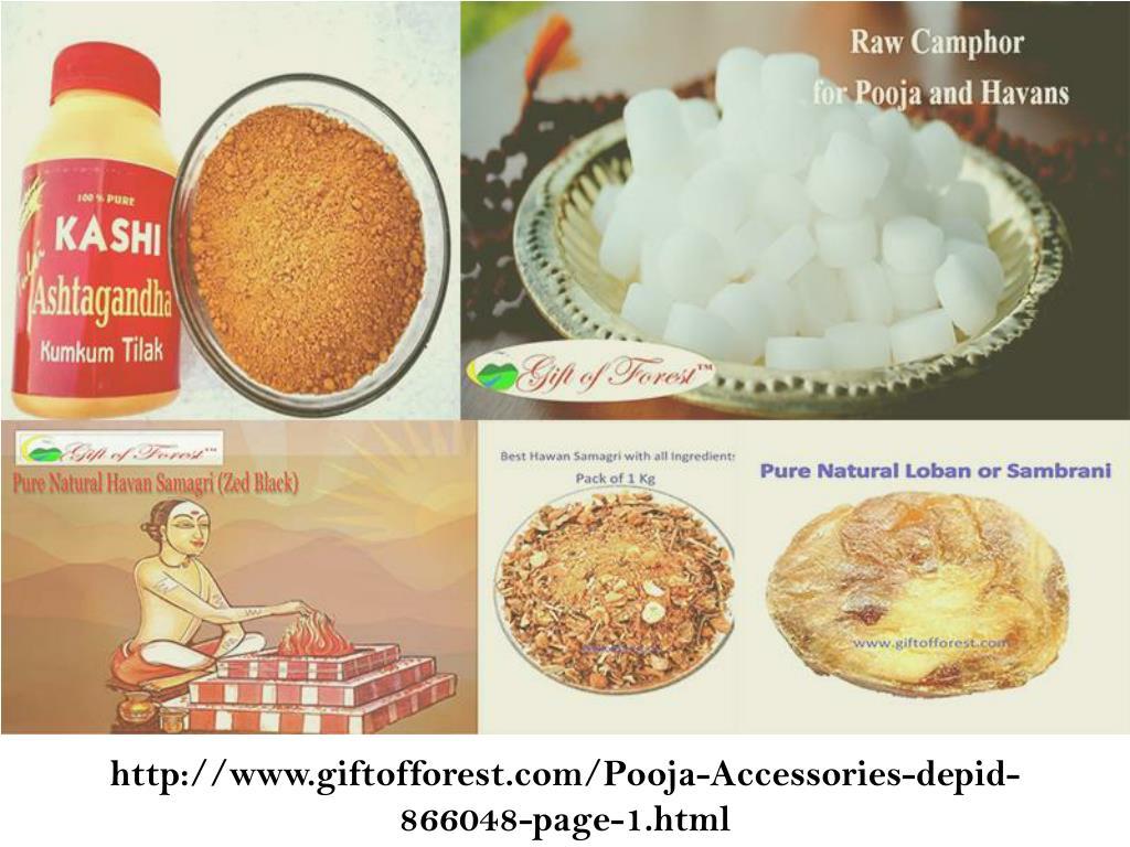 PPT - Durja pooja special pooja and havan samagri with