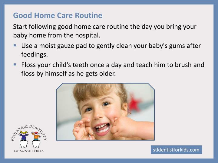 Good Home Care Routine