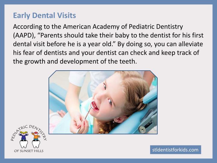Early Dental Visits