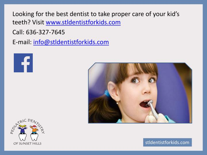 Looking for the best dentist to take proper care of your kid's teeth? Visit