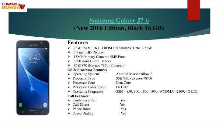 Samsung Galaxy J7-6