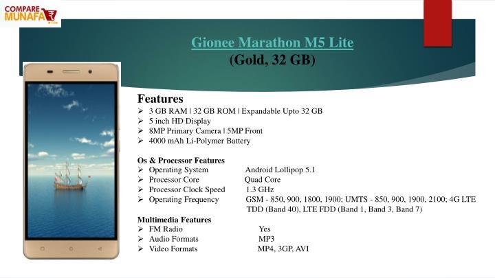 Gionee Marathon M5