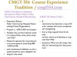 cmgt 554 course experience tradition cmgt554 com7