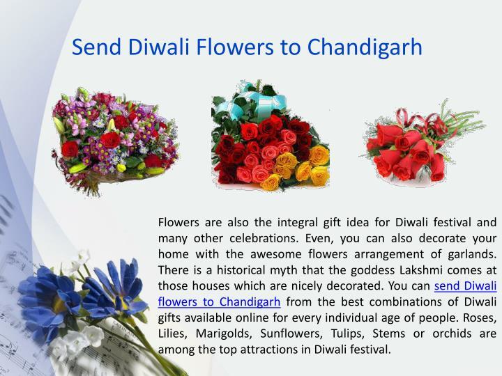 Send Diwali Flowers to Chandigarh