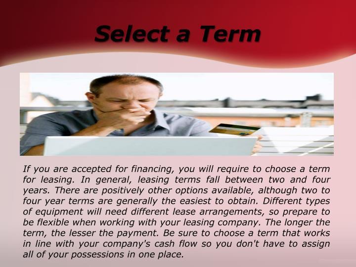Select a Term