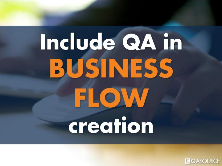 Include QA in