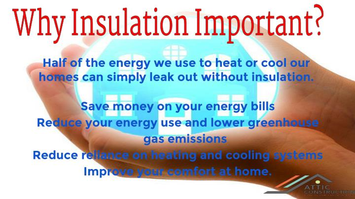 Why Insulation Important?