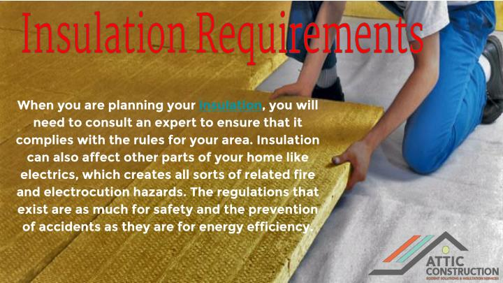 Insulation Requirements