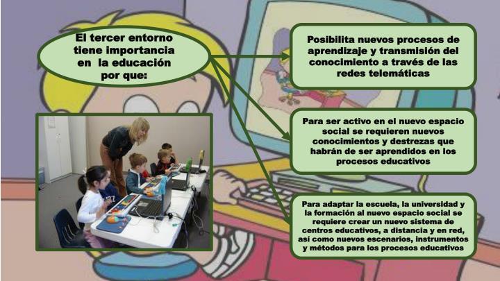 Educacion y nuevas tecnolog as telematicas