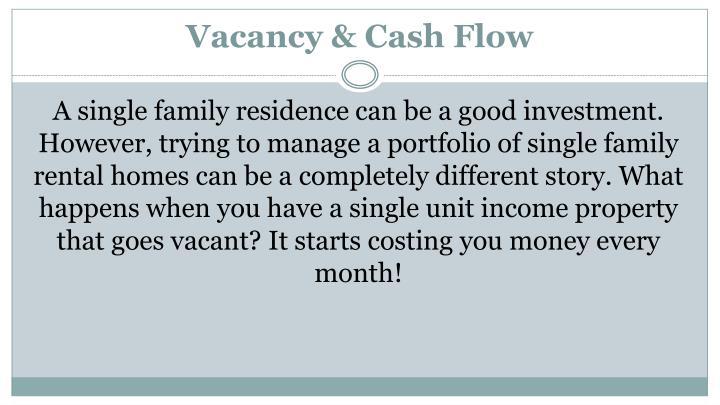 Vacancy & Cash