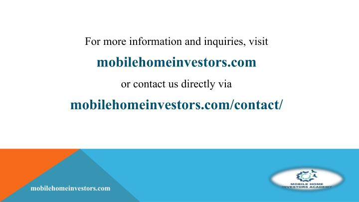 For more information and inquiries, visit