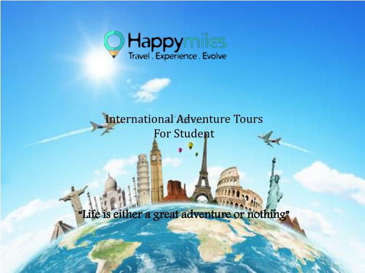International Adventure Tours For