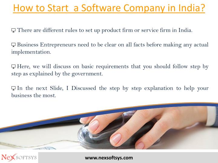 How to Start  a Software Company in India?