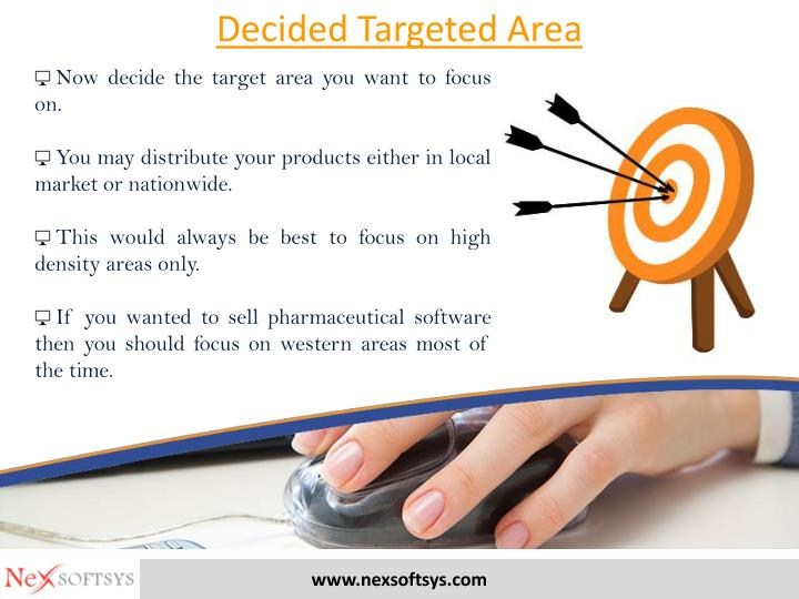 Decided Targeted Area