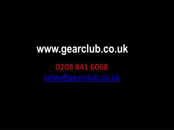 www.gearclub.co.uk