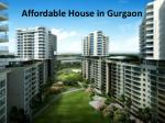 affordable house in gurgaon