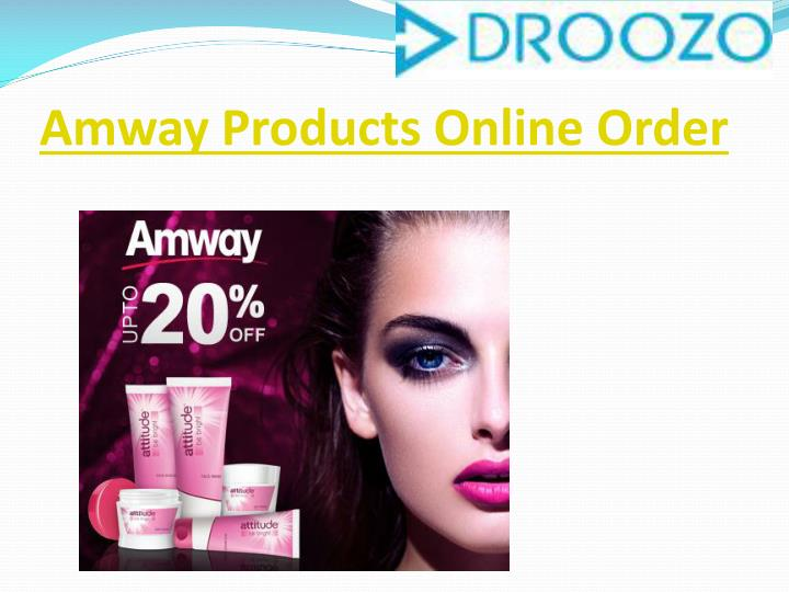 Amway products online order