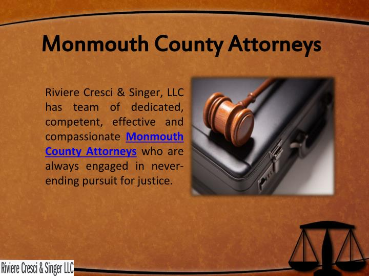 Monmouth County Attorneys