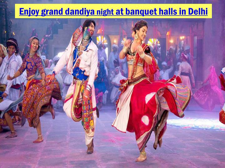 Enjoy grand dandiya