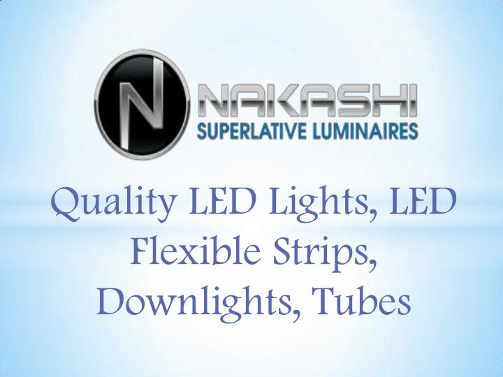 Quality LED Lights, LED