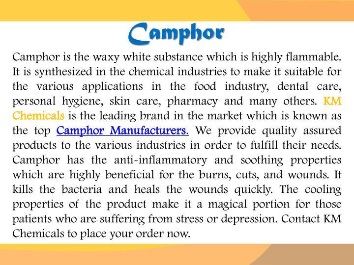 Camphor
