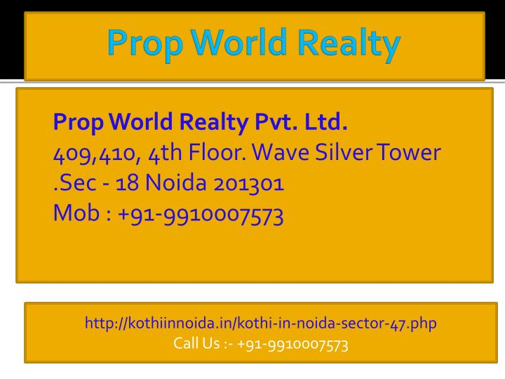 Prop World Realty