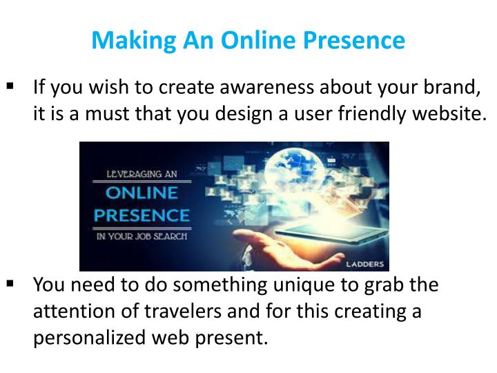 Making An Online Presence