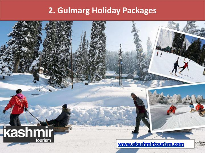 2. Gulmarg Holiday Packages