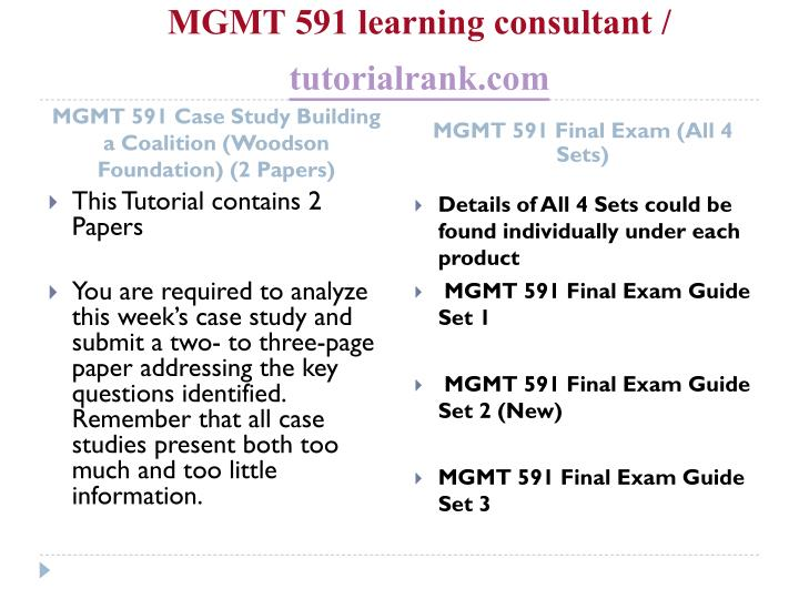 mgmt 591 case study write up Need help with writing a business case study analysis use this tutorial to get step-by-step instructions and tips for a solid analysis.