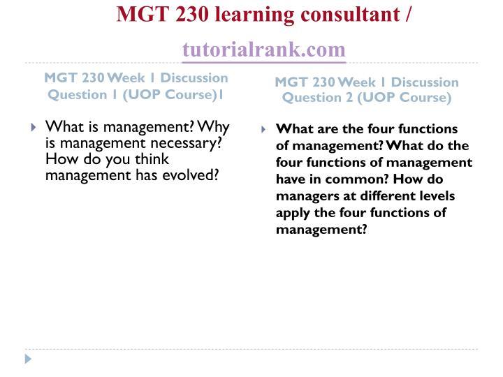 Mgt 230 learning consultant tutorialrank com2