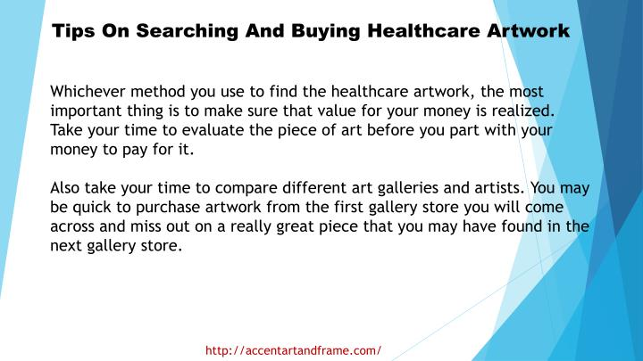 Tips On Searching And Buying Healthcare Artwork