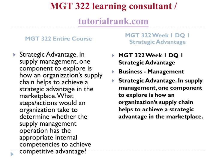 Mgt 322 learning consultant tutorialrank com1