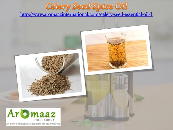 Celery Seed Spice Oil