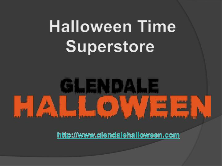 Halloween Time Superstore