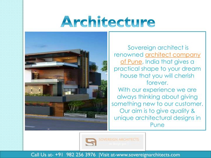 Sovereign architect is