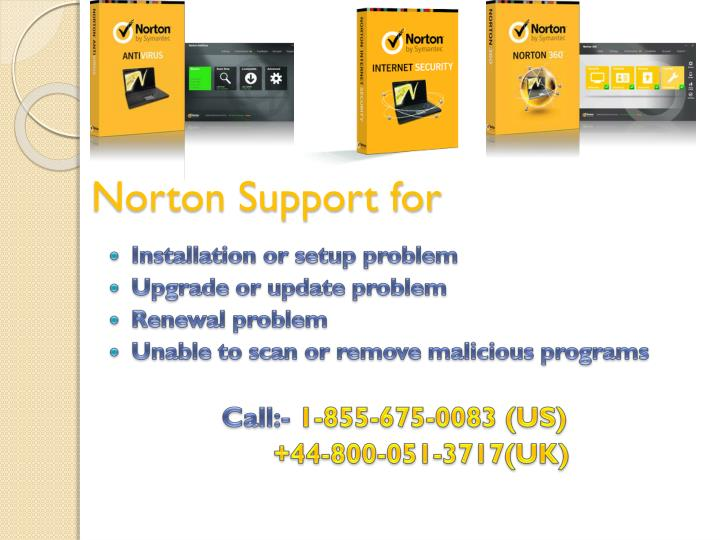 Norton support for