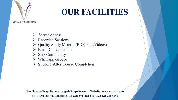 Server Access