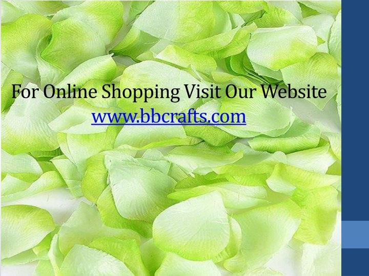 For Online Shopping Visit