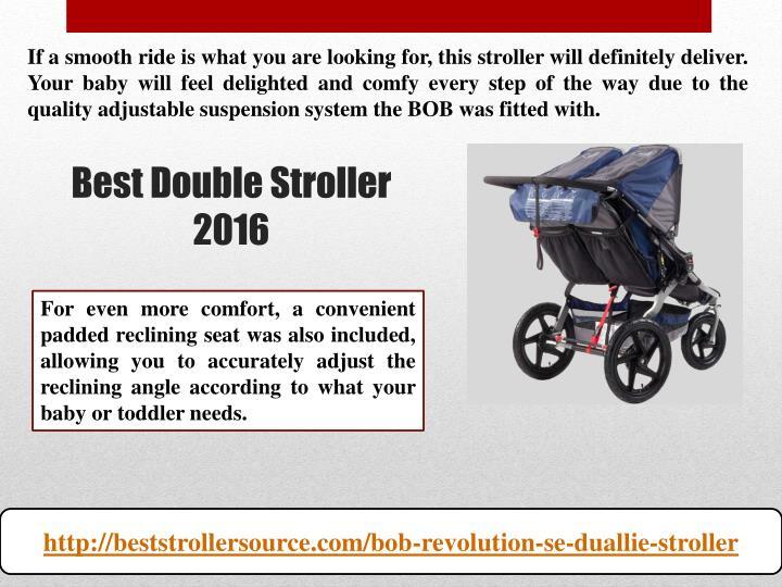 Best double stroller 20162