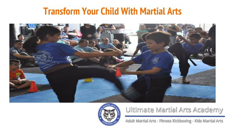 transform your child with martial arts n.
