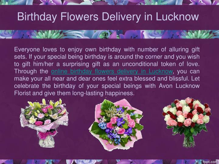 Birthday flowers delivery in lucknow