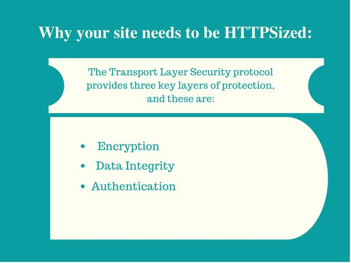 Why your site needs to be HTTPSized: